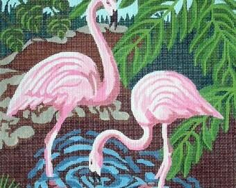 Flamingo Needlepoint Canvas