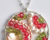 Queen Anne Necklace by Agape Gems