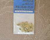 Sterling Silver End connectors - 30 pcs - BUY ONE GET ONE FREE