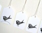 bird - mini gift tags