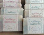Handmade Soaps Bulk 24 Bars Your Choice - Volume Discount Included in Price - Full Sized Soaps - Includes Natural, Scented, Unscented, Etc