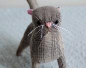 Plaid Kitten--SALE