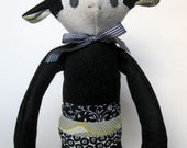 August the Chimp  - Stuffed Toy - Plush Toy - Plush Monkey