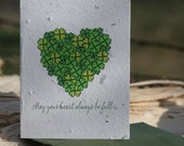 Happy St. Patricks Day - Plantable Paper Greeting Card
