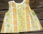 Reversable Vintage Fabric Smock