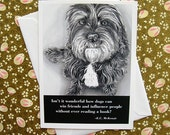 Dog quote card: Mutt / E.C. McKenzie wisdom
