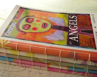 ANGELS - HISTORY and MYSTERY - hand made book