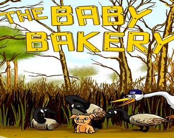 The BABY BAKERY - delighful children's book