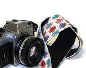 Camera Strap - Robots Robots - SLR, DSLR