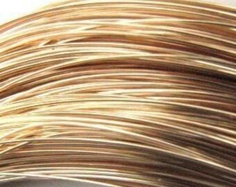 14ktgf round soft 21gauge wire (5 FEET) MSIA TEAM
