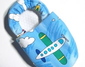 Airplanes Soft Soled Baby Shoes 6-12 mo