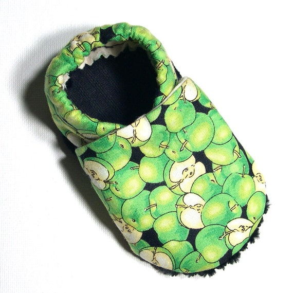 Apples Soft Soled Baby Shoes 6-12 mo
