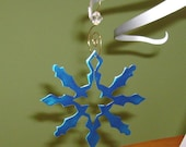 Metal Snowflake Ornament