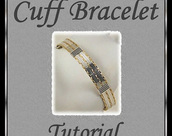 Wire Wrapped Cuff Bracelet Tutorial