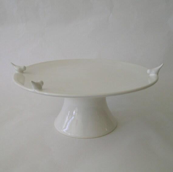 Bird Cake Stand