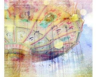 Carnival Dreams II, 5x5 Inch Print