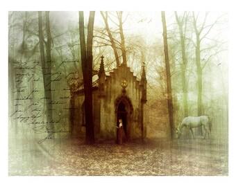 Secret Places: Woodland Fantasy Art Print