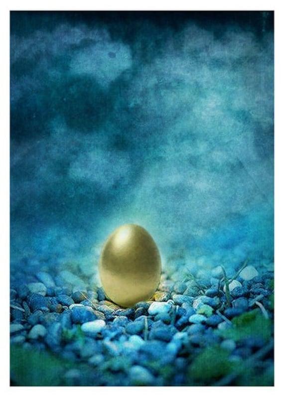 The Golden Egg Myth: Fairy Tale Art Print