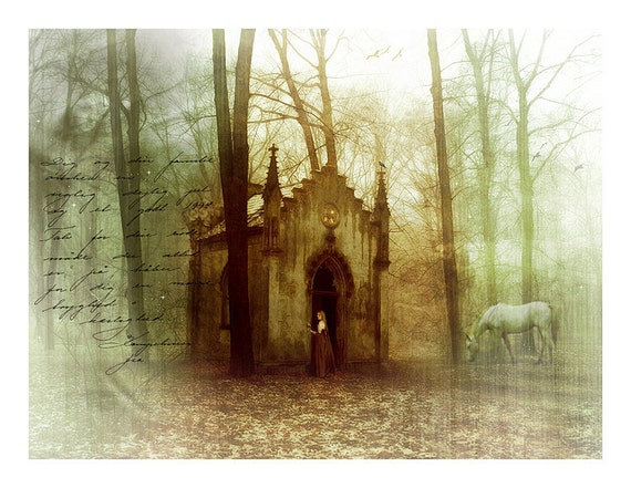 Secret Places: Woodland Fantasy Art Print