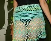 Cotton Crochet Beach Skirt