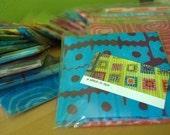 Bundle of stitch in dye fabric