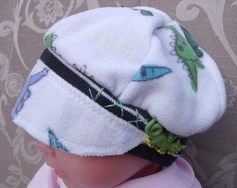 Infant Jax Hat with baby dinasauers