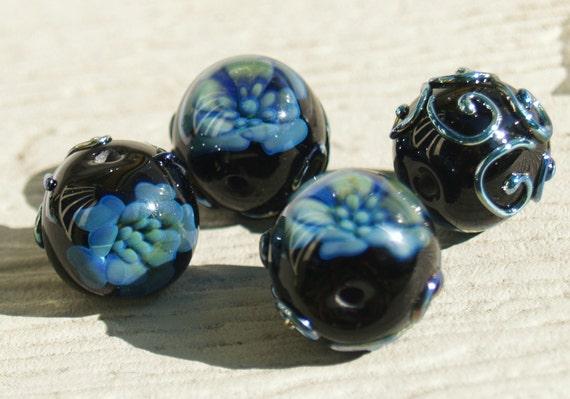 RESERVED Blue orchid destash