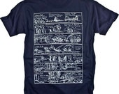 History Illustration Renaissance Vintage Graphic T-shirt (S,M,L,XL,XXL available)