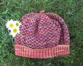 Quilted Slip-Stitch Adult Hat Pattern