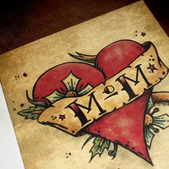 Tattoo Of My Parents Signature From A Card: Items Similar To MOM Card 5x7 Greeting Card Blank Birthday