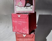 Valentine goody boxes printable download