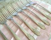 WM Rogers antique forks