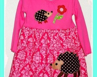 Instant Download PDF Sewing Pattern Tutorial DIY Sweet Tee Dress T-shirt or Tank Dress 12 Mo. To 6