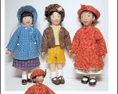 Pattern for Little MO Dolls - No.103 Coats and Hats