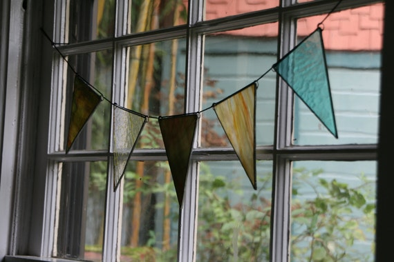 Reclaimed Glass Bunting