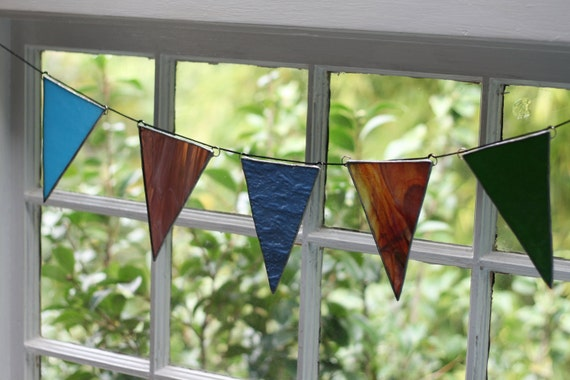 Recycled Glass Pennants