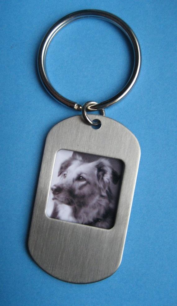 Custom photo keychain personalized key chain baby kids wedding pets photograph picture jewelry keychain Close to My Heart