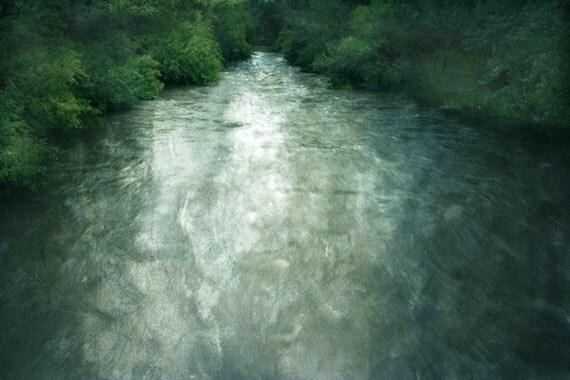 the river- original fine art photograph 8x12