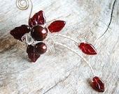 Red Fairy Ear Cuff Wrap