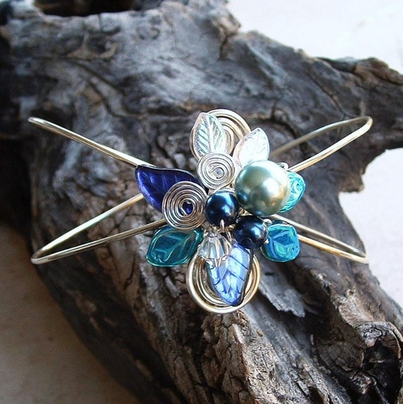 HOLIDAY SALE Moonlight Blue Fairy Bower Bracelet