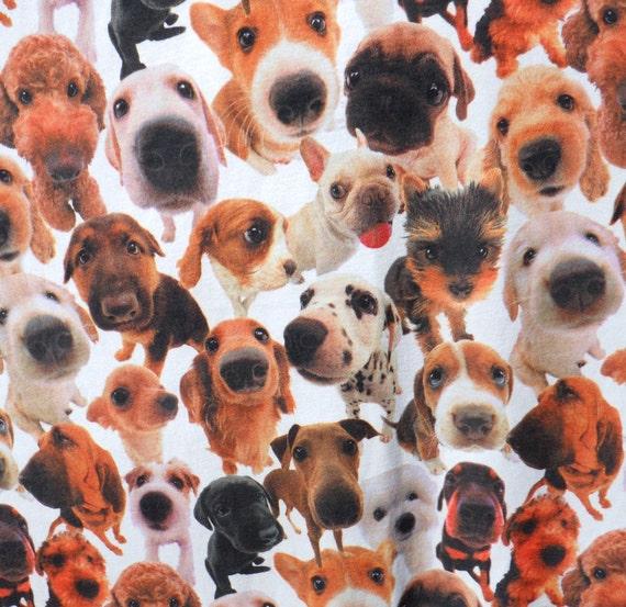 Dog Fleece Fabric Three Yards