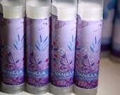 Vanilla - Artisan Lip Balm - All Natural - with Artwork by Kristen Stein