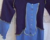 Girls Size 5-6 BrambleBerry Elf Cashmere Recycled Sweater
