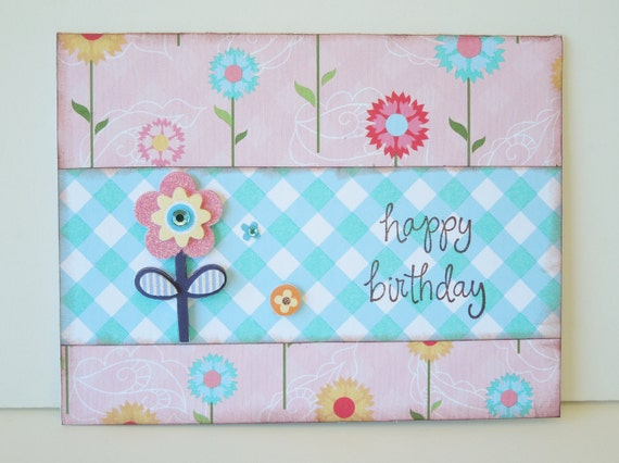 Funky Colorful Birthday Card for all Ages