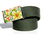 Obi Belt Buckle - Italian Florentine (Buckle Only) Womans Vegan Friendly Belts