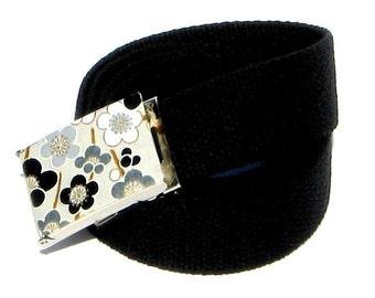 Obi Belt Buckle - retro mod (Buckle Only) Vegan Friendly Belts