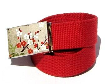 Obi Belt Buckle - asia minor (Buckle Only) Vegan Friendly  Belt