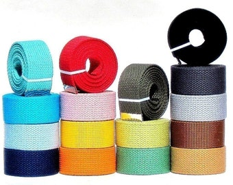 Obi Belts - Vegan Friendly choose any color to go with Obi Buckles