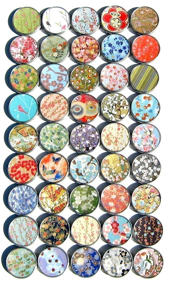 Asian party favors gift tins - assortment of 10 mint tins