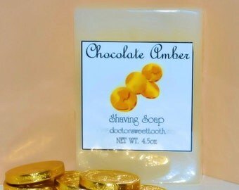 Chocolate Amber Shaving Soap